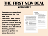 The New Deal - US History/APUSH Common Core
