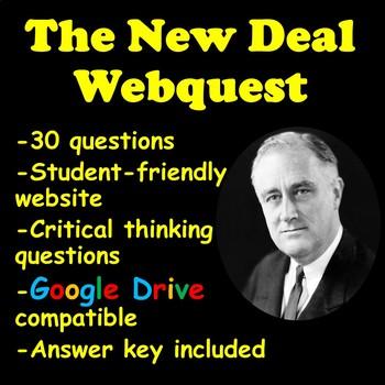 The New Deal Webquest