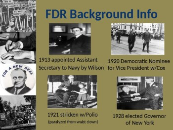 New Deal and FDR PowerPoint
