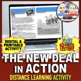 The New Deal in Action Activity
