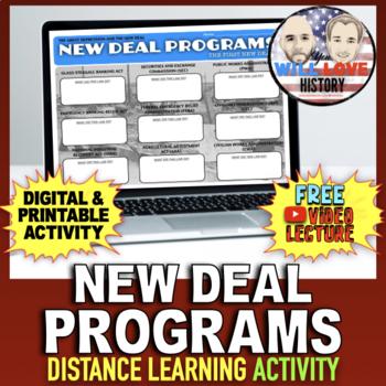 New Deal Programs Activity