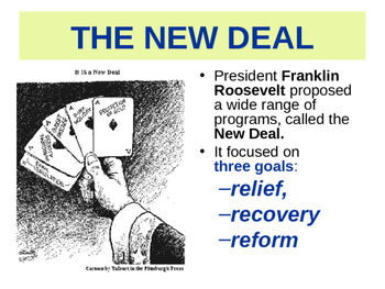 The New Deal programs