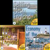 The New England Colonies US History Unit Bundle
