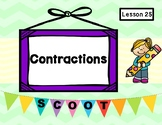 The New Friend (Journeys Lesson 25, 1st Grade) CONTRACTIONS Task Cards