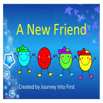The New Friend (Unit 5 Journeys Common Core Reading Series)