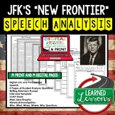 The New Frontier by John F. Kennedy Speech Analysis and Wr