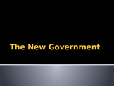 The New Government