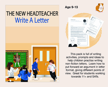 The New Headteacher: Write A Letter (9-13 years)