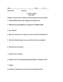The New Immigrants Study Guide/ Review Pearson US History Topic 9.4