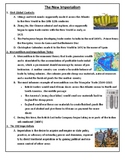 The New Imperialism - Whole Unit Guided Notes Pages
