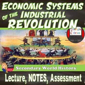 Industrial Revolution ECONOMIC SYSTEMS Presentation and Project