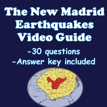 New Madrid Earthquakes Video Guide