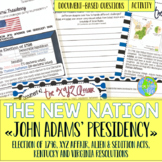 John Adams, Alien and Sedition Acts, XYZ Affair