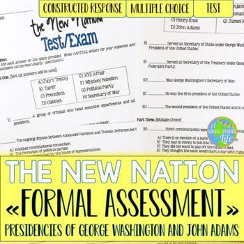 George Washington and John Adams Unit Test