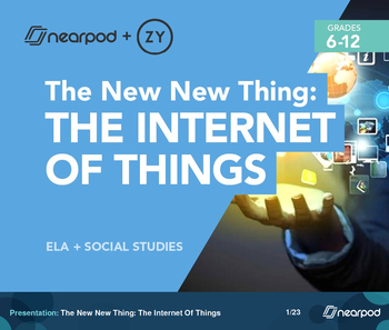 The New New Thing: The Internet Of Things