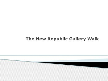 The New Republic Gallery Walk