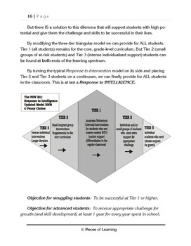 The New RtI: Response to Intelligence