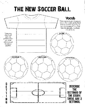 The New Soccer Ball Guided Reading Packet