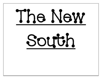 The New South Word Wall