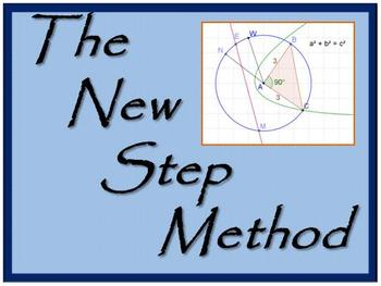 The New Step Method COMMON CORE GEOMETRY Homework sheets