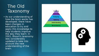 The New Taxonomy PowerPoint Presentation