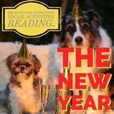 The New Year! ESL Beginner Nonfiction, Reading, Activities