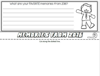 The New Year Flip Book: Interactive Activity for Grades 2-5