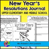 New Year's Resolutions and Goals Booklet