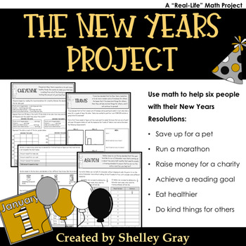 The New Years Project: a New Years Resolution Math Project for January