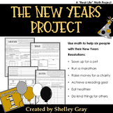 The New Years Project: a New Years Resolution Math Project