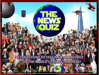 The News Quiz 12th - 26th February 2018 Form Tutor Time Topical Events Settler