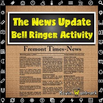 The News Update Bell Ringer Activity