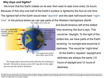 The News about Day and Night: How Does the Earth's Movement Affect Us?