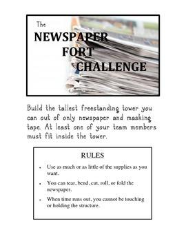 The Newspaper Challenge