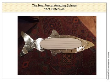 The Nez Perce Amazing Salmon Art Extension