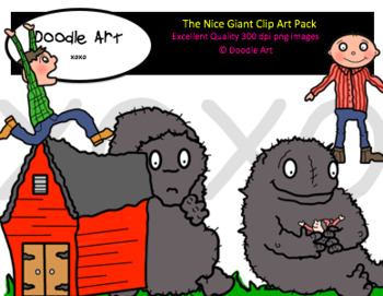 The Nice Giant Clipart Pack