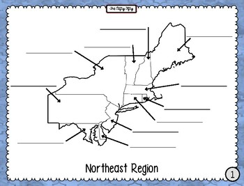 The Nifty Fifty Region Maps