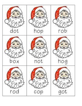 The Night Before Christmas! A Nonsense & CVC Word Game