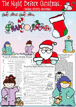The Night Before Christmas Activity Download
