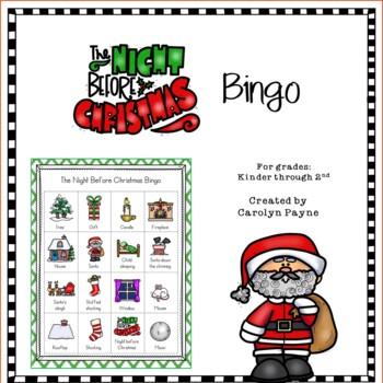The Night Before Christmas Bingo