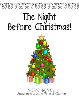 The Night Before Christmas! CVC v. CVCe Game