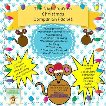 The Night Before Christmas Companion Packet {for middle/high school}