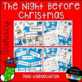 The Night Before Christmas Literacy Activity for Preschool