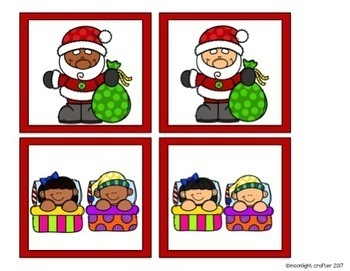 The Night Before Christmas Materials for Kindergarten and Pre-K