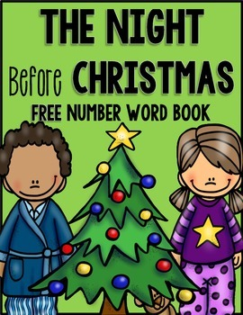 The Night Before Christmas {Number Word Book Freebie}