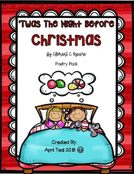 'Twas The Night Before Christmas Poetry Pack
