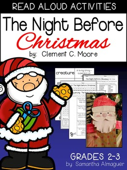The Night Before Christmas:  Read Aloud Activities