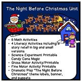 The Night Before Christmas Thematic Unit for Preschool-Kin