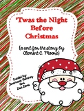 'Twas The Night Before Christmas~ a One Week Unit for the poem by C.C. Moore