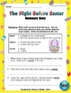 The Night Before Easter - A Dictionary Entry Activity